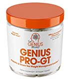 Genius Probiotics for Weight Loss w/ Green Tea Extract for Women & Men - Shelf Stable Probiotic Natural EGCG Fat Burner Supplement, Digestive Health Pills for Bloating Relief and Belly Reduction -30sv