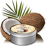 Coconut Oil 450ml - Cocos Nucifera Oil - Indonesia - 100% Pure & Natural Cold Pressed - Best Benefits for Skin Hair Face Body Care - Unrefined Coconut Oils by Aromatika