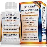 Dr. Tobias Deep Immune Probiotic - Probiotic plus Ultimate Prebiotic (Patented) - Shelf Stable