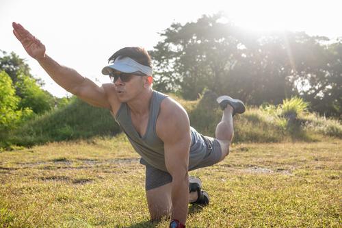 Alternating Bird Dog Exercise