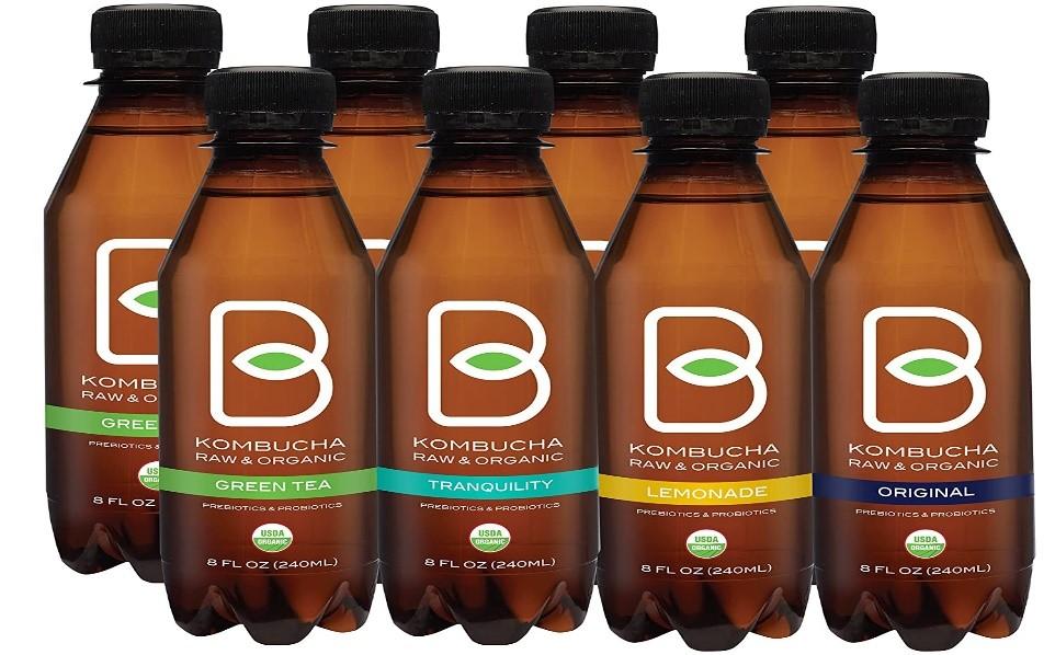B-tea Kombucha Raw Organic Tea