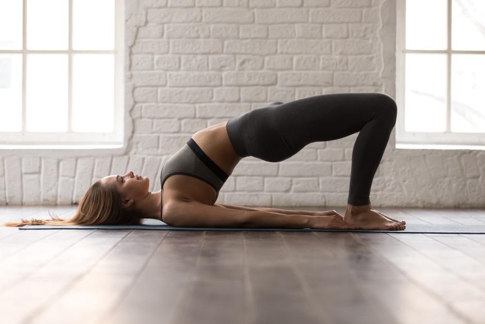 bridge pose exercise
